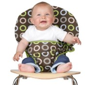 Mobiseat - Kindersitz Braun