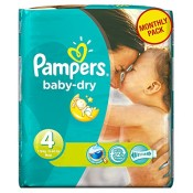 Pampers Windeln Baby Dry Gr.4