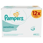 Pampers Feuchte Tücher Sensitive 672 Tücher