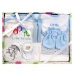 Baby Erstausstattung Neugeborenen Geschenk-Set (8-tlg. Set), Farbe:Rosa