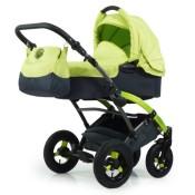 Knorr-Baby Voletto Sport schwarz-lemon
