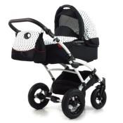 Knorr-Baby Kombikinderwagen Voletto Tupfen