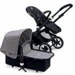 Bugaboo Kinderwagen schwarz/grau