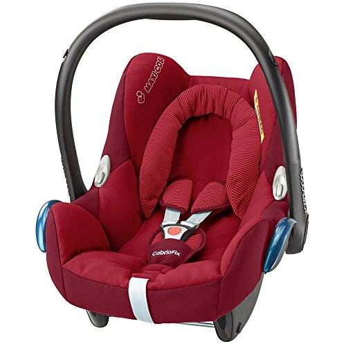 maxi cosi cabriofix babyschale mit isofix rot. Black Bedroom Furniture Sets. Home Design Ideas